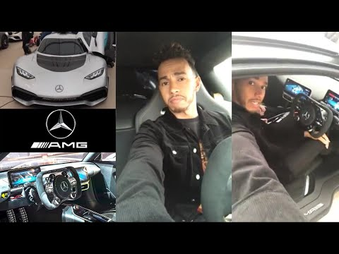 Launching Project One Mercedes F1 (£2 million Road Car) on Instagram Live | Lewis Hamilton Vlogs