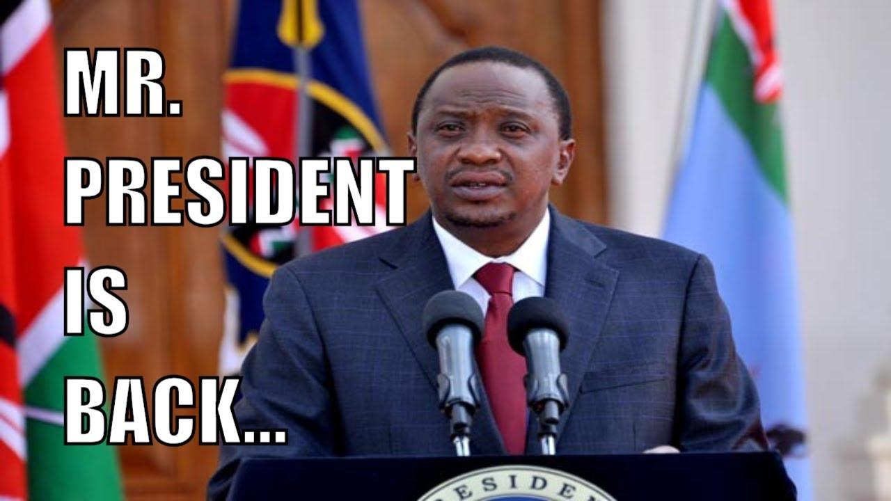 President Uhuru Kenyatta back in the public limelight, assents to Bills