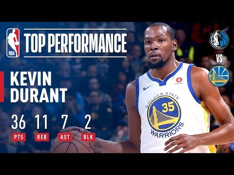 Download Youtube: Kevin Durant Puts Up 36 pts, 11 rebs, 7asts vs Dallas Mavericks