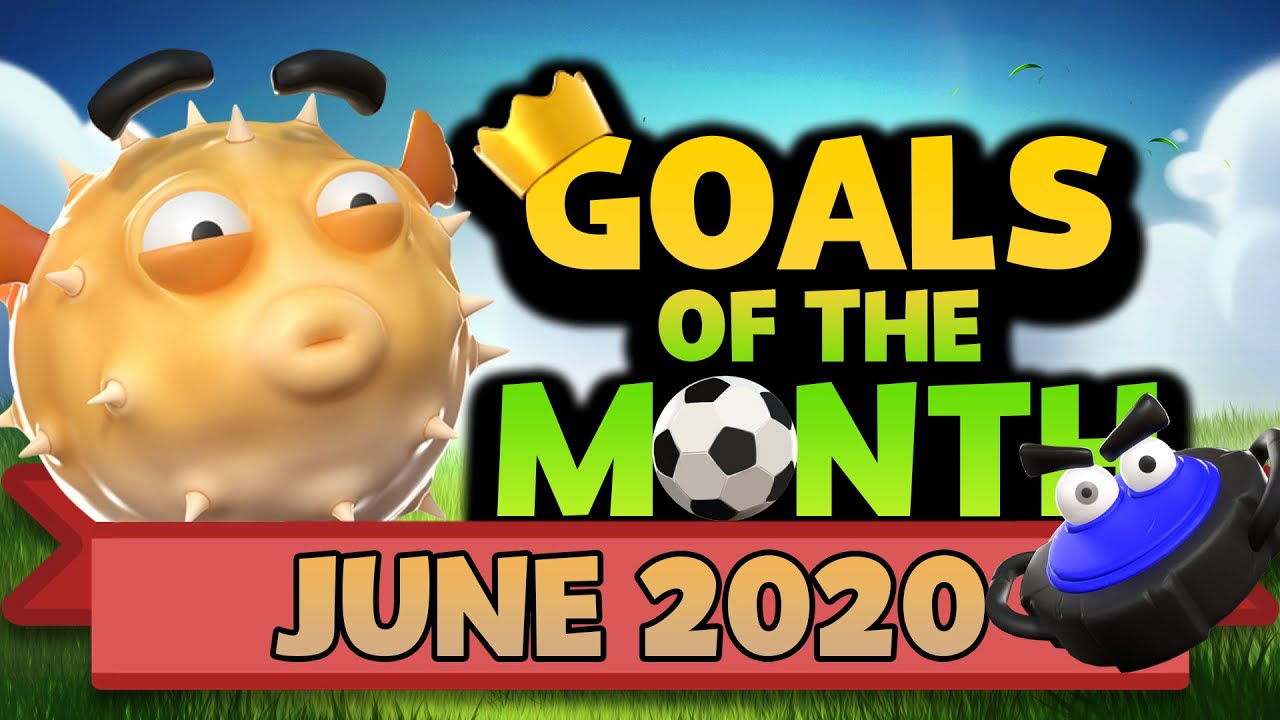 Rumble Stars Goal of the Month JUNE 2020