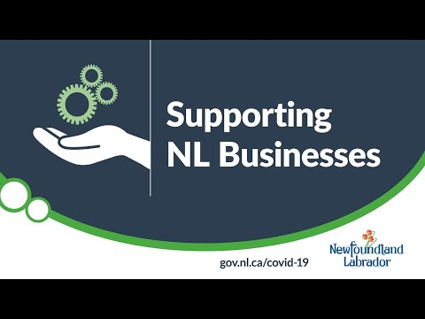 May 25, 2020 Supporting NL Businesses