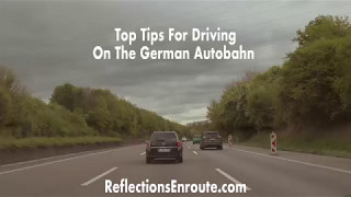 Tips For Driving The German Autobahn
