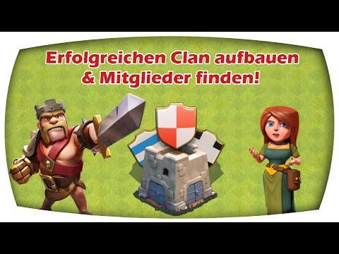 Clan ERFOLGREICH aufbauen & wie bekommt man viele Mitglieder | Clash of Clans