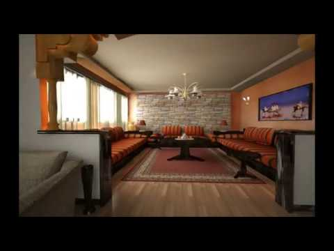 Architecture marocaine visite virtuelle d 39 une villa youtube for Architecture marocaine