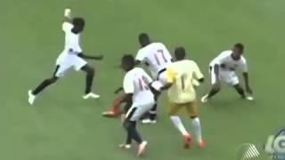 Суровая драка в футболе