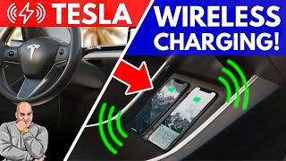 Nomad Tesla Model 3 Wireless Charger Review - Wirelessly Charge Your Phone!