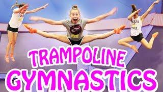 Trampoline Gymnastics! (Haschak Sisters)