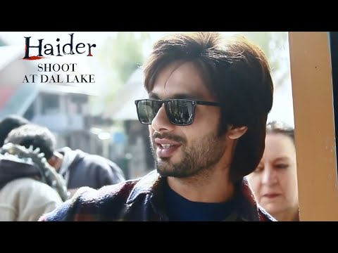 Haider | Shooting At Dal Lake | Behind The Scenes | Shahid Kapoor & Shraddha Kapoor