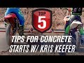 Top 5 Tips For Dirt Bike Concrete Starts w/Kris Keefer