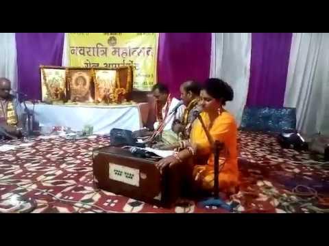Aprtem अप्रतिम भजन (Maiyaa Teri Chunri Lal Hai) By Indian Nightingale स्वर-कोकिला प्रतिमा Pratima 2