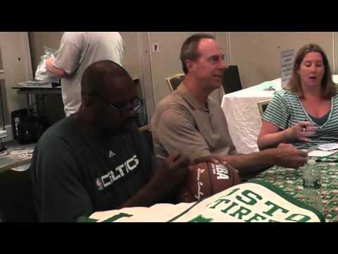 Dave Cowens, Cedric Maxwell, and Christian Fauria