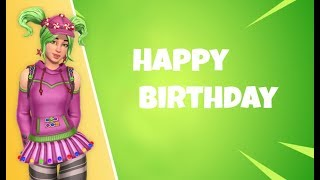 Birthday Challenges And Rewards // Fortnite Battle Royale