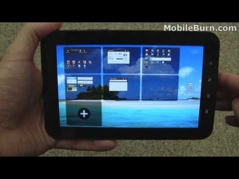 Samsung Galaxy Tab (T-Mobile) review - part 1 of 2