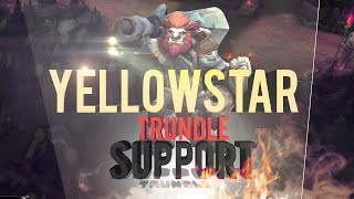 FNC YellOwStaR vs SK - Trundle SUPPORT Highlights