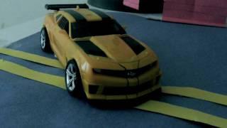 Transformers 3 (DOTM) - Bumblebee vs Starscream (Stop-motion)