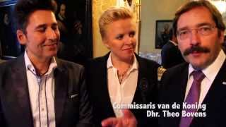 René Shuman & Angel-Eye Commissaris van de Koning Theo Bovens
