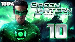 Green Lantern: Rise of the Manhunters Walkthrough Part 10 (PS3, X360, Wii) 100% Mission 10 ENDING