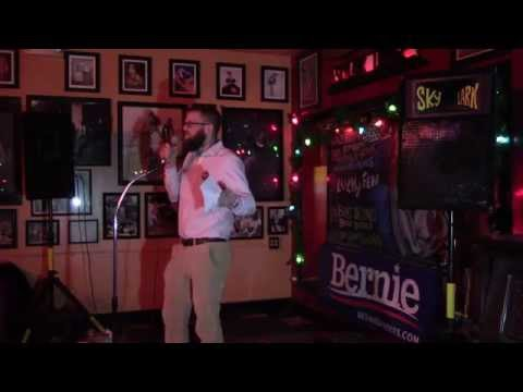 Kevin Foster at the Skylark Lounge - Caucus Canvass Training Nov 18, 2015