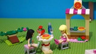 Игры для детей. LEGO. Собираем из конструктора Лего пиццерию для Стефани.(Строим из конструктора Lego. Стефани мечтает открыть пиццерию. Но не знает с чего начать и Эмма помогает ей...., 2015-12-02T07:49:46.000Z)