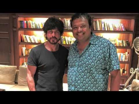 Hrishi K & Shahrukh Khan   `Fan` Interview