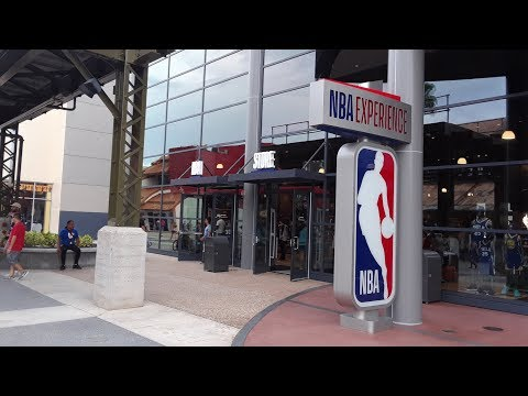 NBA Store Disney Springs Full Tour With Prices!! JUST OPENED!!!