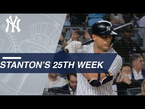 Best of Giancarlo Stanton's 25th week of 2018