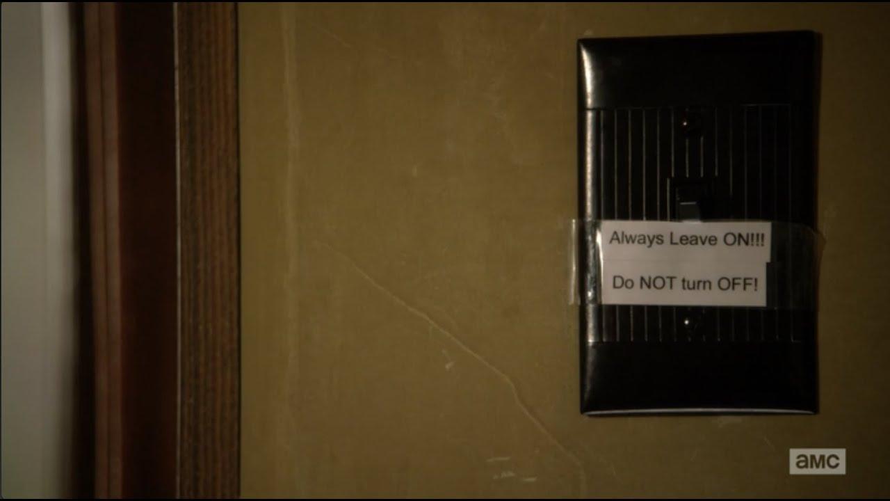 Better Call Saul Light Switch - YouTube