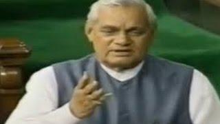 जब AB Vajpayee की फटकार से Parliament में छा गया था सन्नाटा