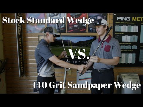 Can Sandpaper Help Your Golf Game?