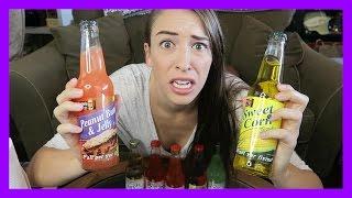 Tasting Weird Sodas!!!
