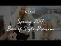 Box of Style Spring 2017 Preview | The Zoe Report by Rachel Zoe