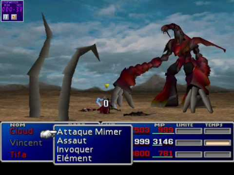 Ff7 Ruby Weapon The Fastest 50 Seconds Solo Character