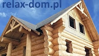 Relax-dom - Budowa domu z bali