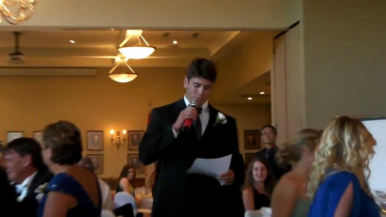 best mc wedding speech youtube