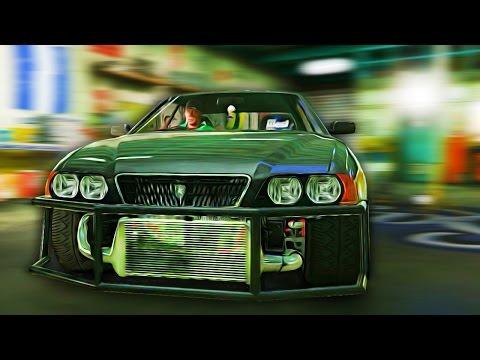 ДРИФТ В GTA 5 - ДРИФТ НА Toyota Chaser. ПЕРВЫЕ ПОЛОМКИ. СМОТРИМ ТЮНИНГ.