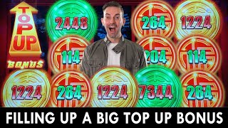 ⬆ FILLING UP a TΟP UP BONUS on Rising Fortunes! 💰