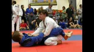 Corey Brokaw(ME) Tying my 2nd BJJ match
