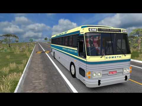 OMSI 2 - CMA Flecha Scania K113 Classico - Mapa Brasil Viagem