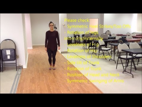Gait Assessment - Normal Gait and Common Abnormal Gaits