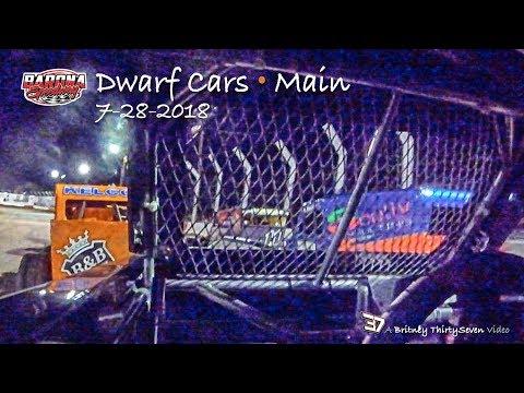 Barona Speedway Dwarf Car Main • 7-28-2018