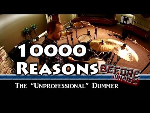 10000 Reasons Drum  Before Kings Tutorials