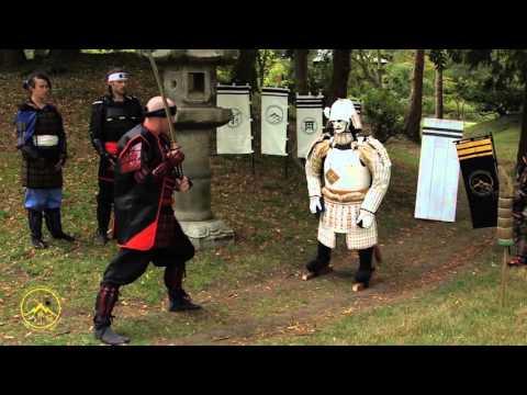 Ryujin Katana Samurai Sword - The Ultimate Test of Samurai Armor - Iron Mountain Armory