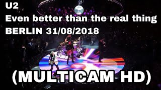 U2 - Even better than the real thing - Berlin 31/08/2018