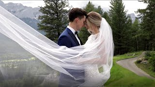 Hilary & Jason Spicer's Canmore Wedding - Highlight