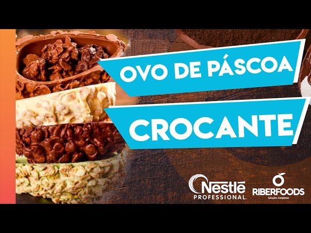 Receita Ovo de Páscoa Crocante com Chocolate Nestlé!