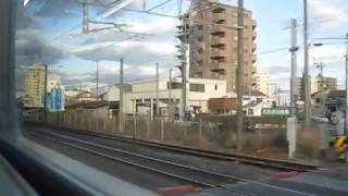 2018 01 車窓・JR山陽本線 227系・快速シティーライナー 大野浦~宮内串戸