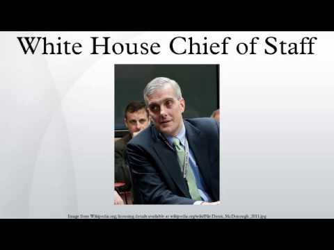 White House Chief of Staff