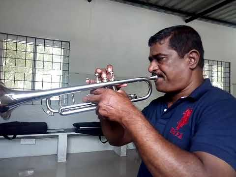 How to play Happy Birthday song on Trumpet by Kamraj
