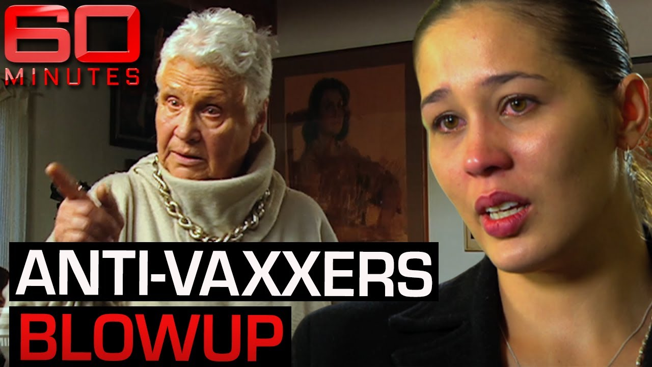 The controversial faces behind the anti-vaccine campaign | 60 Minutes Australia