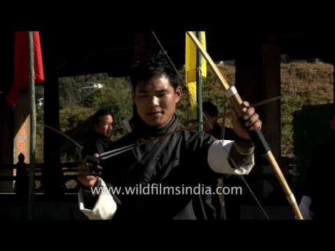 Archery in Bhutan: national sport and favourite pastime